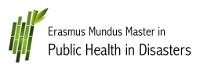 Erasmus Mundus Master in Public Health in Disasters