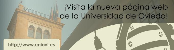¡Visita la nueva web de la Universidad de Oviedo!